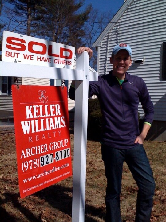 SOLD Sign at Sargent Street